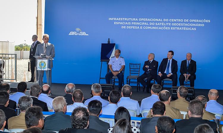 Centro de operações do SGDC é inaugurado em Brasília