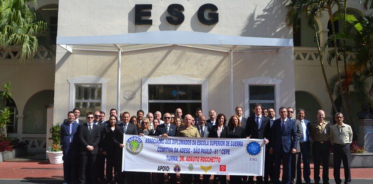 ESG recebe visita de comitiva da ADESG – SP