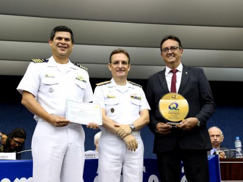 Escola Naval é premiada no Concurso Prêmio Qualidade Rio