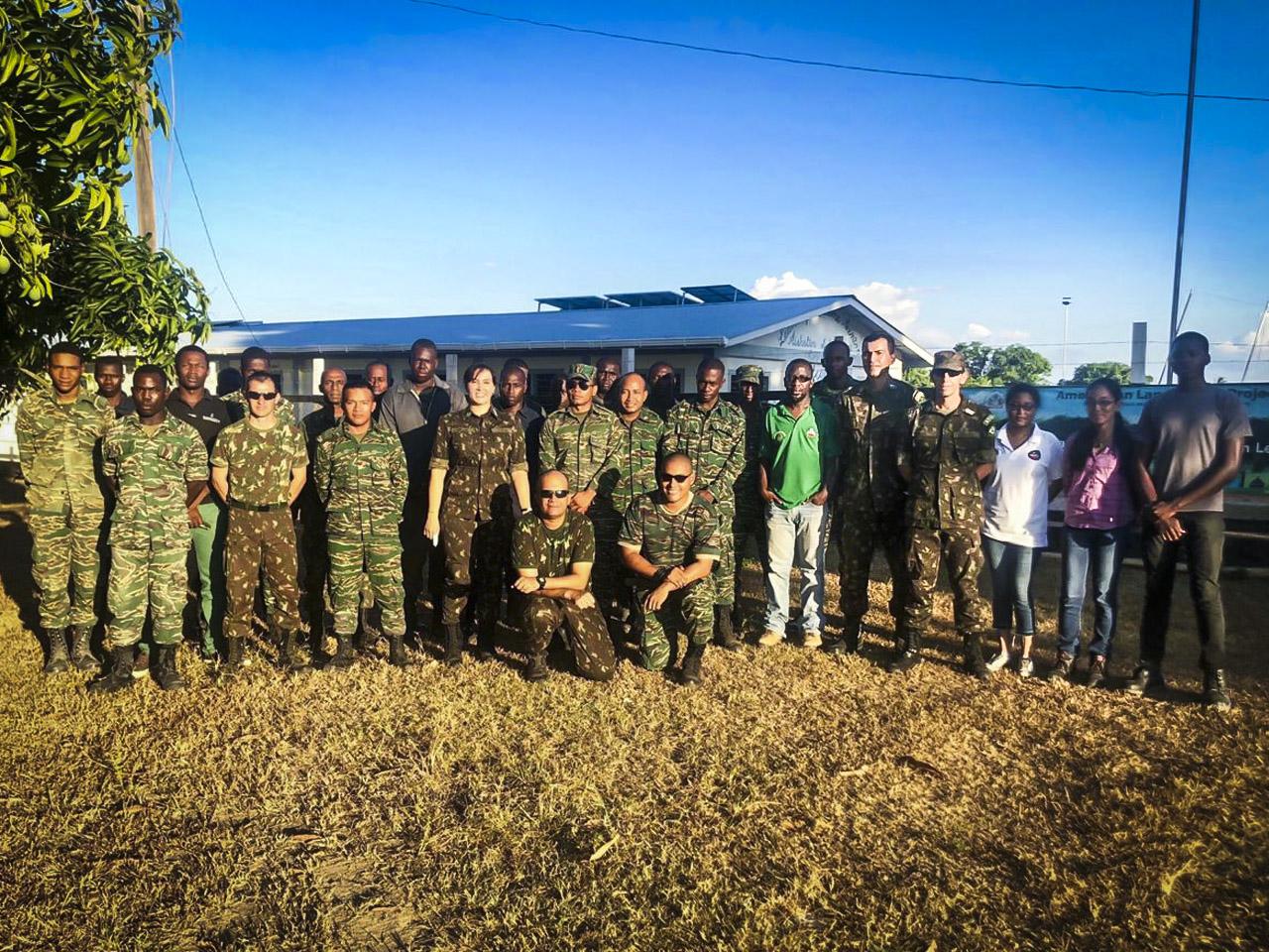 Exército Brasileiro envia técnicos com larga experiência em perfuração de poços para apoio à Guiana