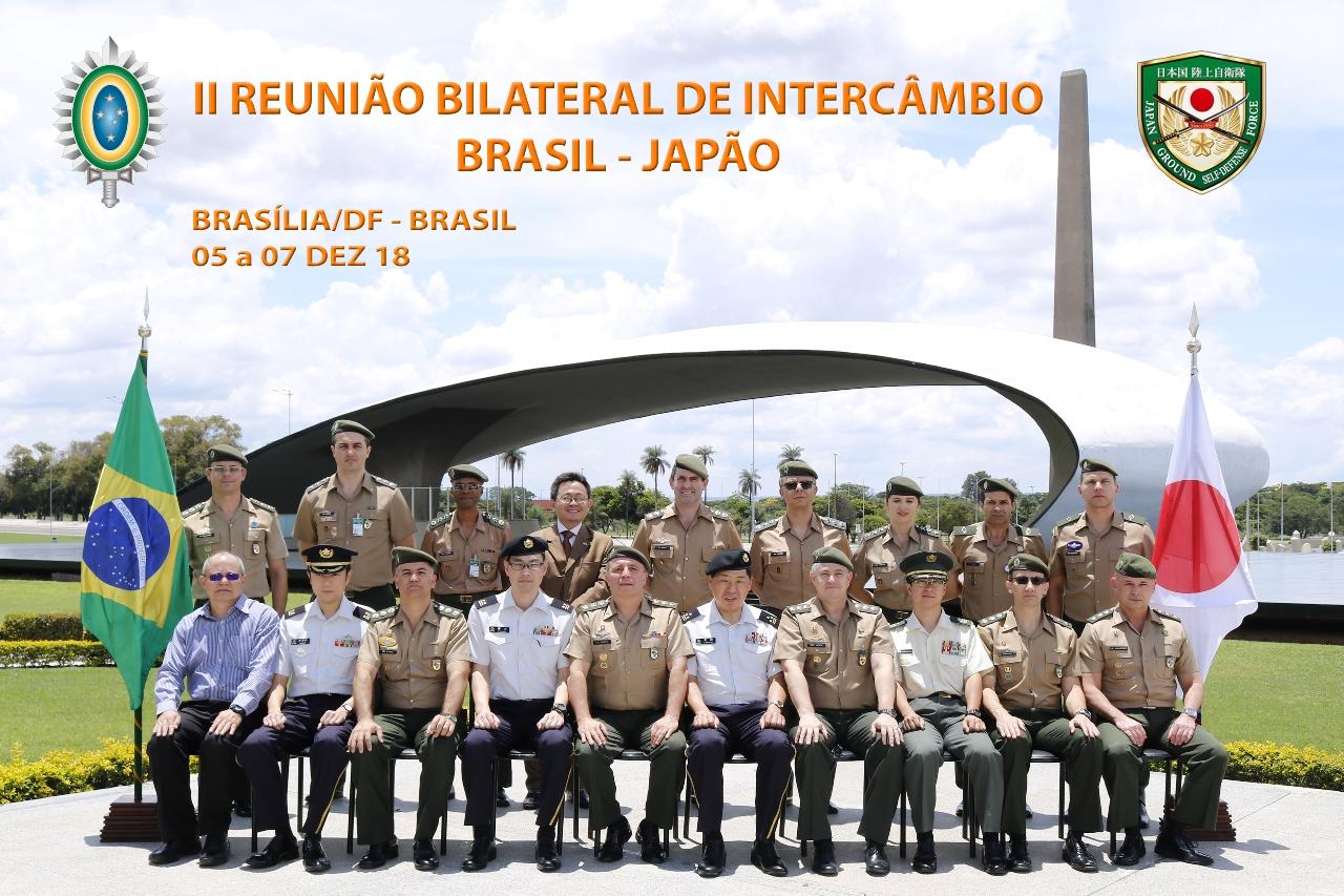 II Reunião Bilateral de Intercâmbio entre o Exército Brasileiro e a Força Terrestre de Autodefesa do Japão
