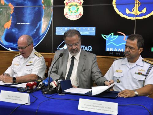 Marinha do Brasil e Ministério da Segurança Pública assinam Protocolo de Intenções