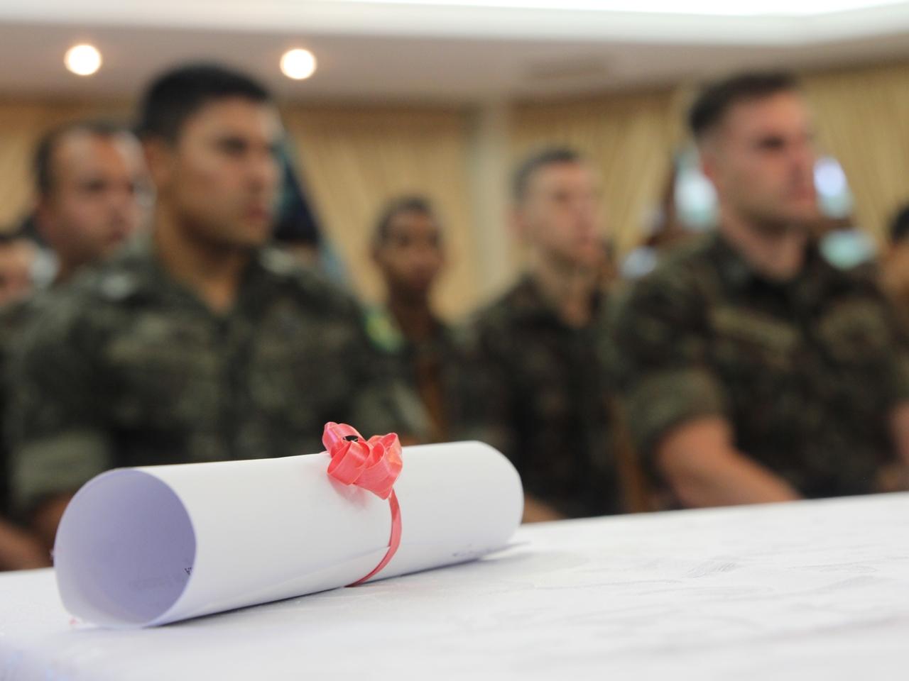 Projeto Soldado Cidadão 2018 profissionalizou cerca de 600 militares apenas na Guarnição de Santa Maria