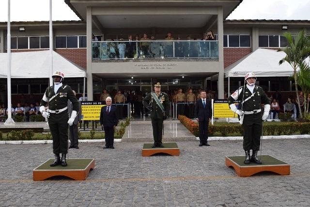Passagem de Comando do Batalhão João Fernandes Vieira