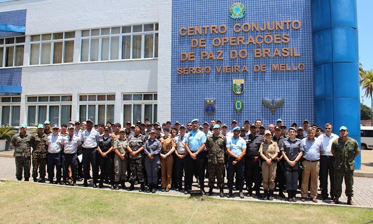 Policiais militares são selecionados para atuar em missões de paz com apoio do Ccopab