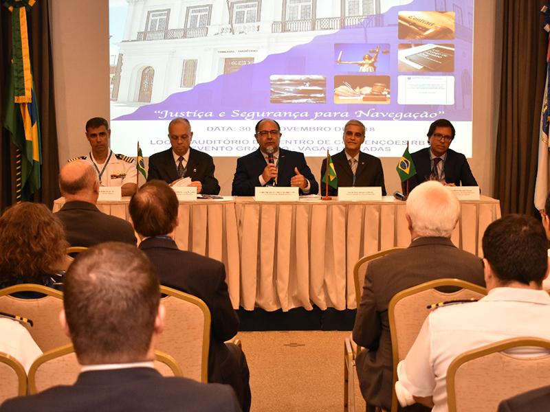 Tribunal Marítimo realiza debate sobre Inovações Tecnológicas e legislativas e seus Impactos no Direito Marítimo em Workshop