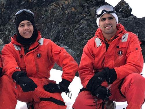 Alunos do Centro de Instrução Almirante Braz de Aguiar realizam comissão para Antártica