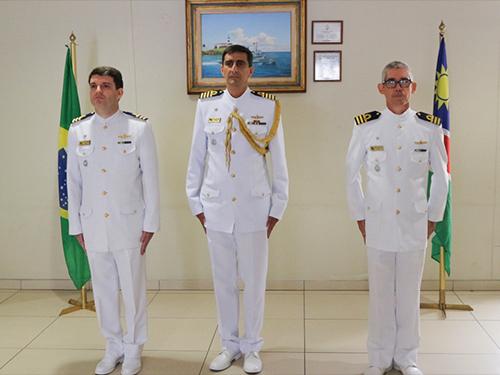 Missão de Assessoria Naval na Namíbia tem novo chefe