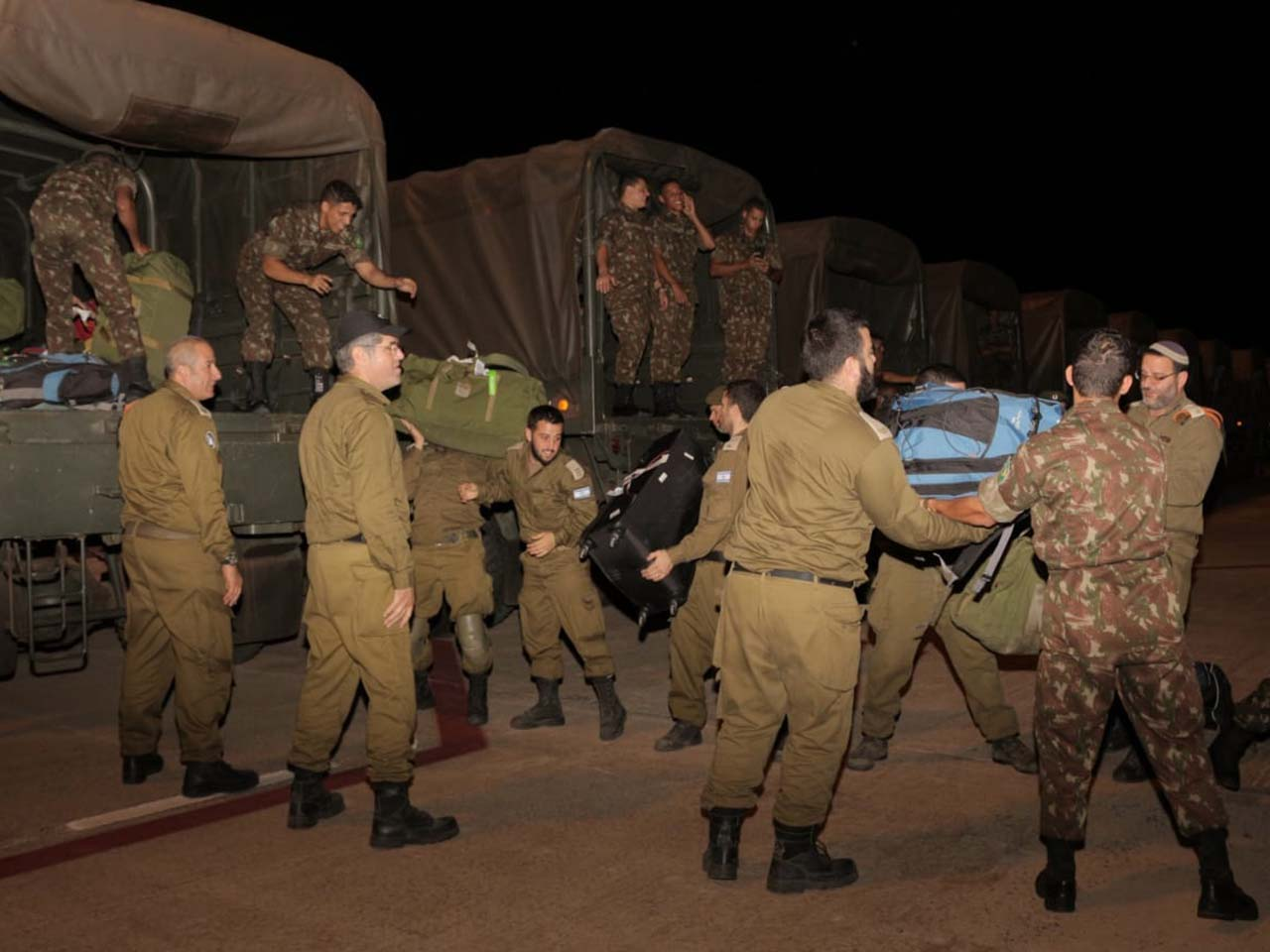 Exército Brasileiro apoia, junto às demais Forças, as equipes de busca e salvamento na Região de Brumadinho