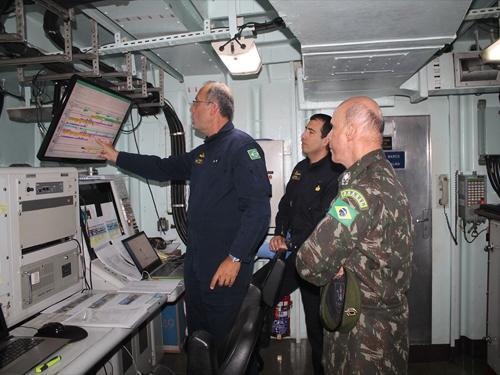 Conselheiro Militar da Missão Permanente do Brasil junto à ONU visita a FTM-UNIFIL