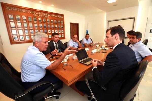 Reunião entre DECEA, SAC e ANAC discute estratégias da aviação para 2019