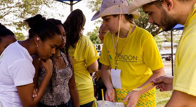 Em 2019, Projeto Rondon vai envolver mais de 800 universitários e professores