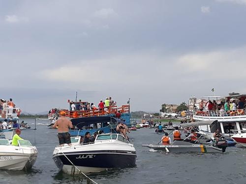 """Marinha do Brasil apoia evento """"Penedo Náutico"""" durante Operação Verão"""