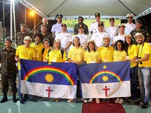 Marinha participa da abertura do Projeto Rondon 2019 em Teresina-PI