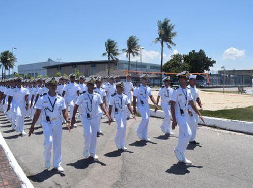 Escola Naval inicia o período de adaptação