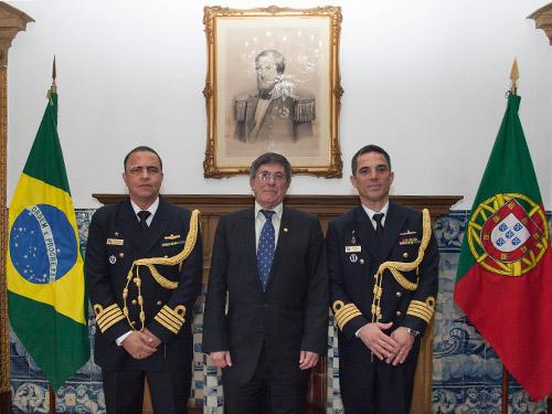 Presidente Soamar Brasil em Portugal prestigia transmissão de cargo de Adido de Defesa e Naval