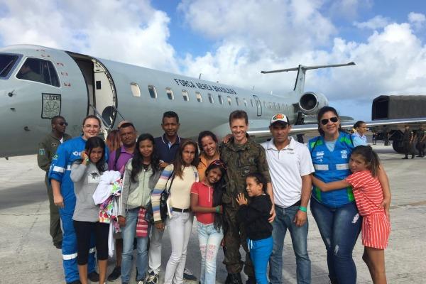 Profissionais de saúde da FAB relatam experiência com imigrantes venezuelanos