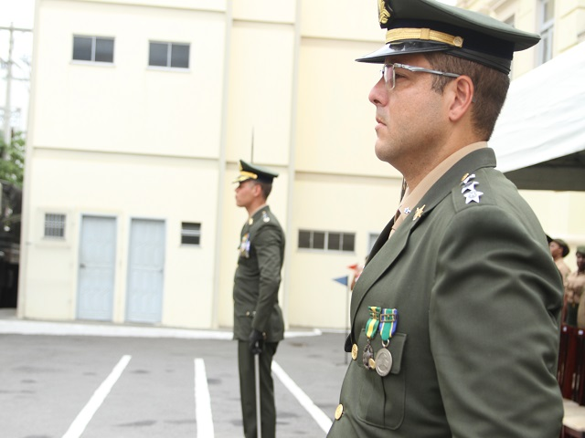 Solenidade de passagem de Comando no Quartel-General
