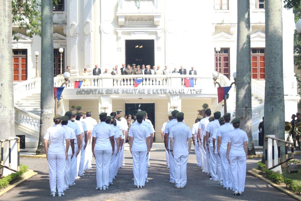 Solenidade no Rio de Janeiro celebra os 250 anos de existência do Hospital Central do Exército