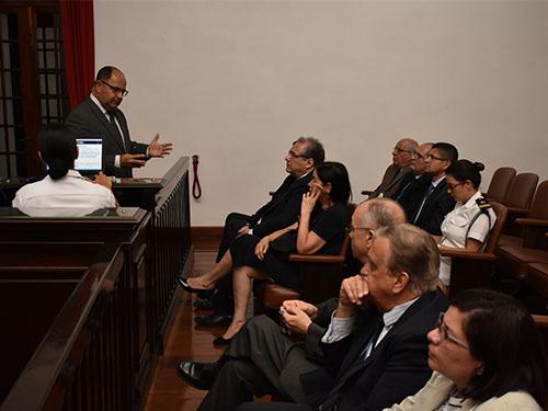 Tribunal Marítimo recebe visita de Desembargadores do Tribunal Regional Federal da 2ª Região