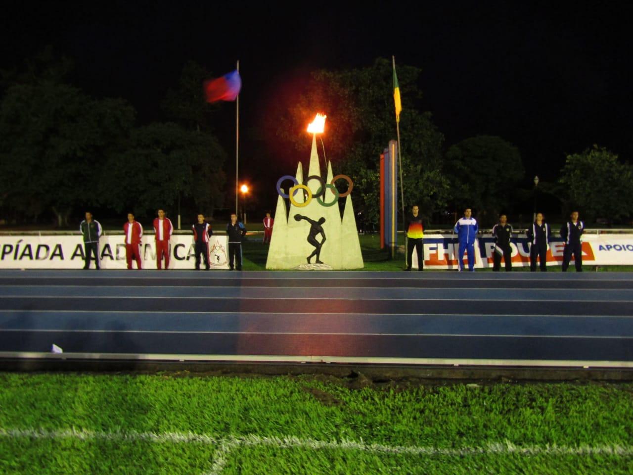 Abertura da 68ª Olimpíada Acadêmica na AMAN