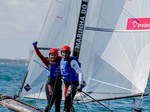 Atletas da Marinha conquistam três pódios em etapa do Mundial de Vela