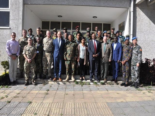 Exército Brasileiro apoia a Etiópia na condução de treinamento para Operações de Paz na África