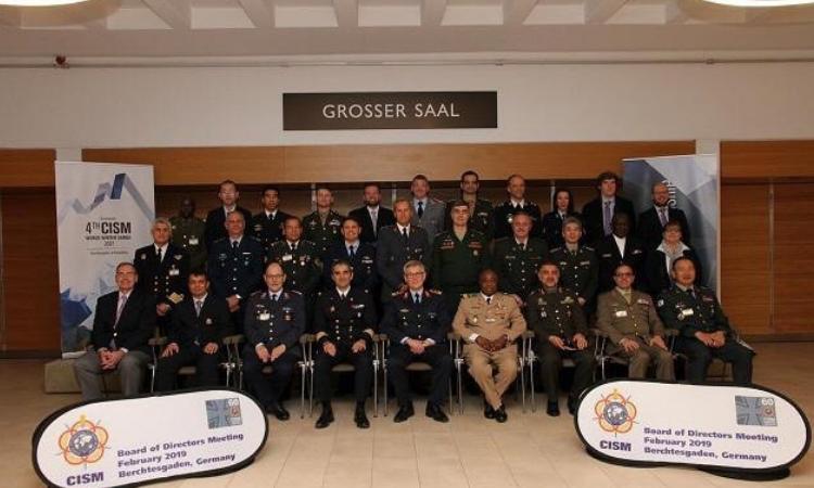 CISM realiza reunião de diretores e lança Jogos Militares de Inverno 2021