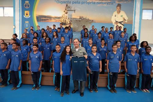 Comandante da Marinha visita o CEFAN