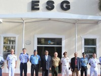 ESG recebe comitiva