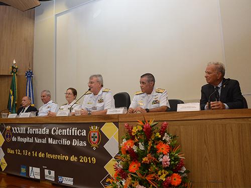 Hospital Naval Marcílio Dias realiza Jornada Científica