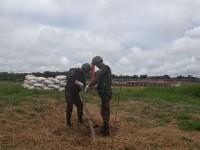 Militares cumprem