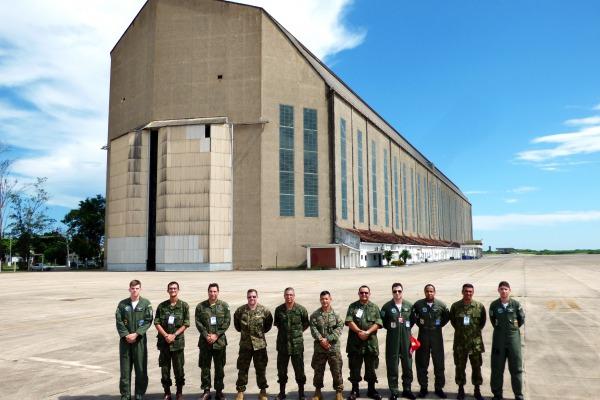Militares norte-americanos visitam Ala 12 para planejar exercício multinacional
