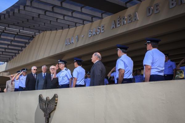 Aviação é homenageada em evento na Ala 1, em Brasília (DF)