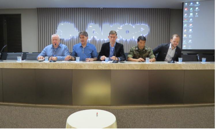 Assinatura de acordo possibilita levar Projeto Rondon para a Região Sul do país