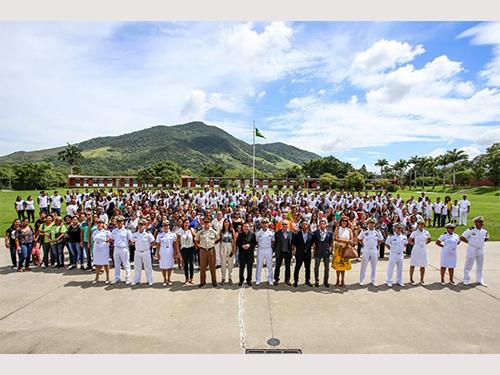Centro de Instrução Almirante Milcíades Portela Alves inicia atividades do Profesp-2019