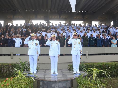 Comando do 4º Distrito Naval realiza Cerimônia de Passagem de Comando