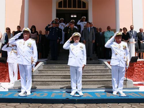 Comando do 9º Distrito Naval realiza Cerimônia de Passagem de Comando