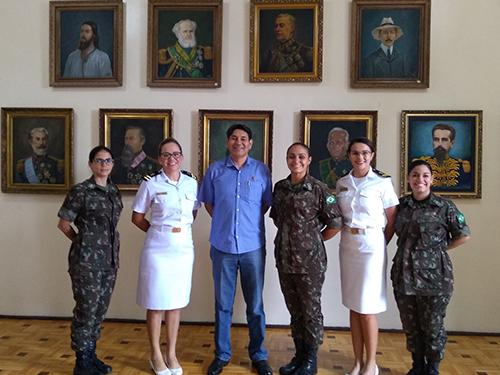Escola de Aprendizes Marinheiros do Ceará realiza visitas institucionais e compartilha experiências na área de assistência social