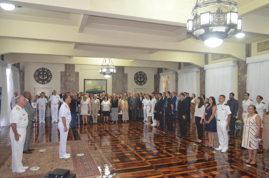 """Sociedade Amigos da Marinha do Rio de Janeiro premia ganhadores do  1º Concurso de redação """"Amazônia Azul"""""""