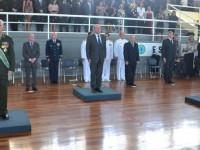 Almirante de Esquadra Alipio Jorge assume comando da ESG