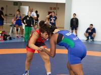 Atletas brasileiros e cubanos