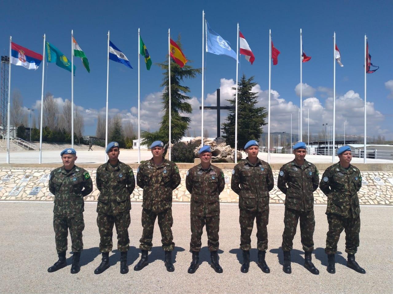 9º Contingente do Exército Brasileiro no Líbano é agraciado com a Medalha das Nações Unidas