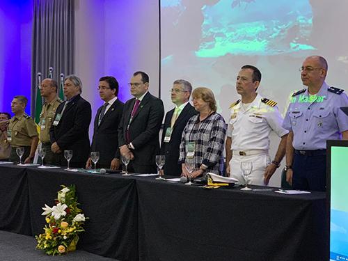 """Marinha do Brasil participa do """"I Fórum Nacional de Defesa Profissional da Sociedade Brasileira de Cirurgia Oncológica"""""""