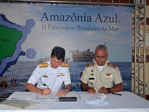 Marinha do Brasil e Polícia Militar da Bahia assinam Acordo de Cooperação
