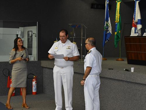"""Marinha participa do """"IX Seminário de Boas Práticas de Gestão"""" e do lançamento do Ciclo 2019"""