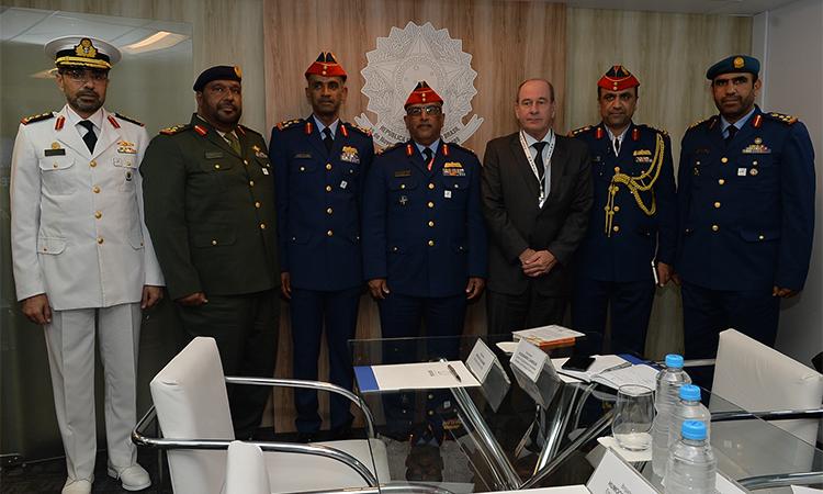Representantes da área de defesa participam do 2º dia de reuniões bilaterais