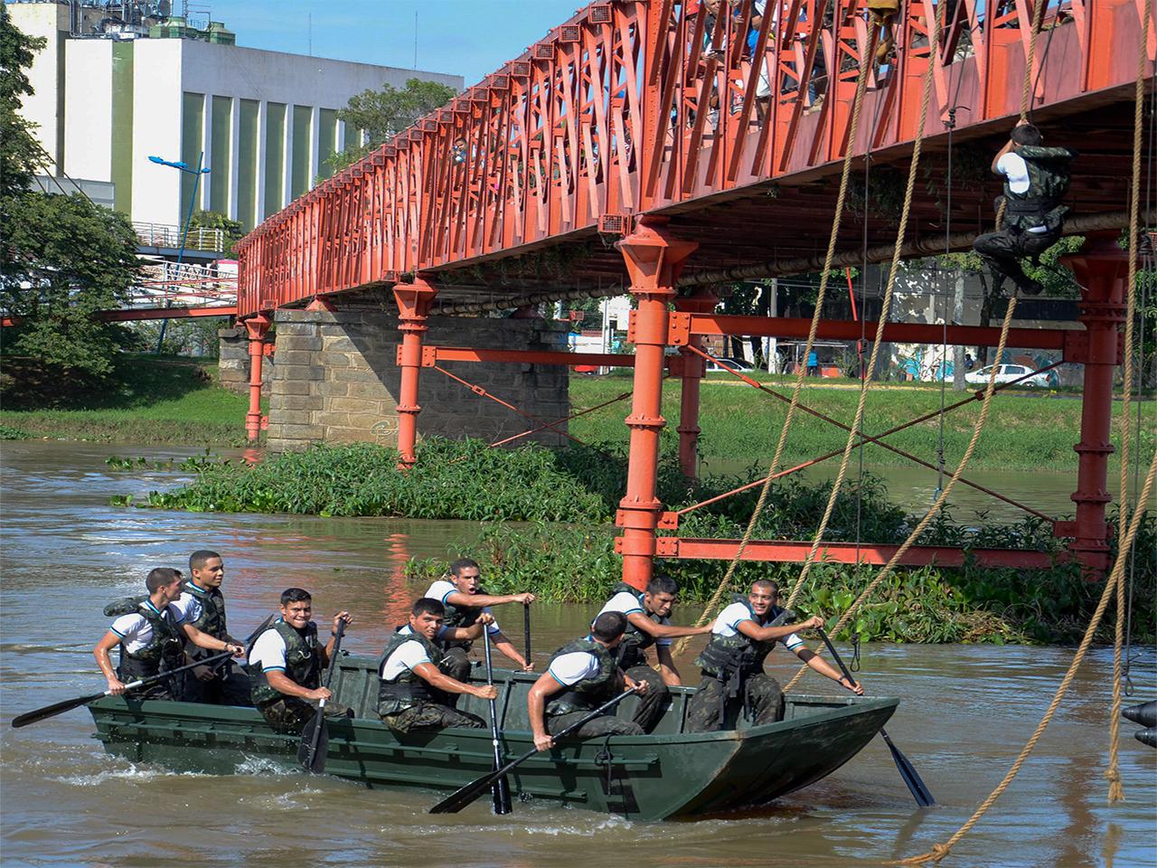 Semana da Engenharia é celebrada na Academia Militar das Agulhas Negras com diversas atividades