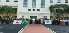 ESG recebe visita da ADESG-MG