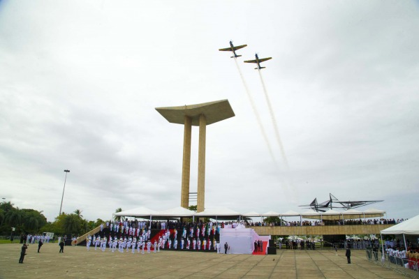Dia da Vitória é lembrado em cerimônia no Rio de Janeiro (RJ)